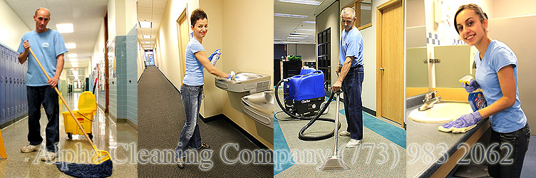 Office cleaning and commercial cleaning services Chicago and suburbs
